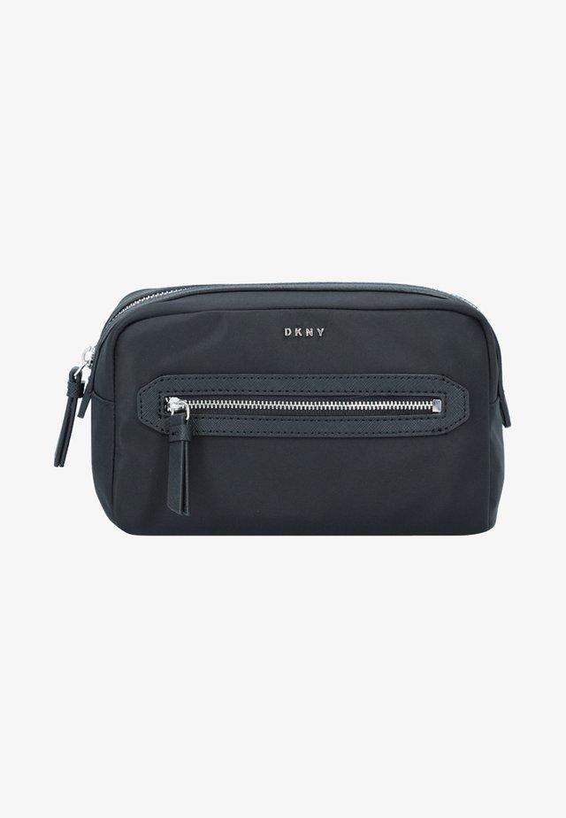 Wash bag - black/silver