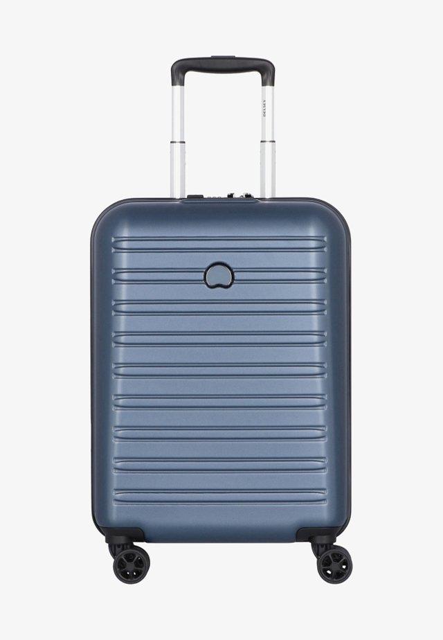 SEGUR - Wheeled suitcase - blue