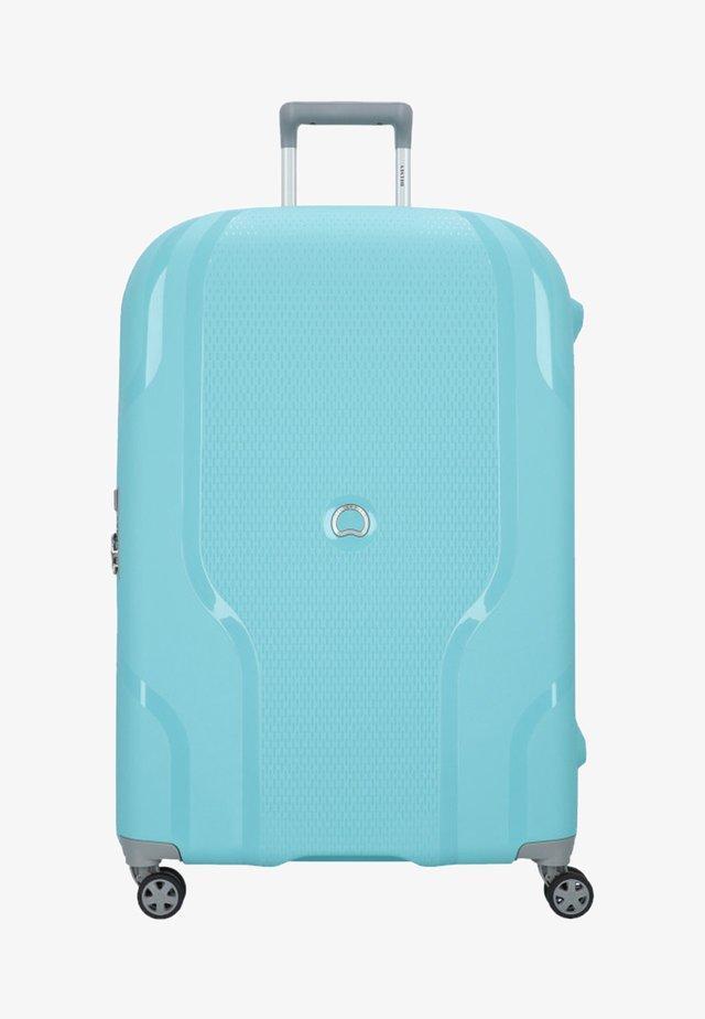 Wheeled suitcase - blue gray