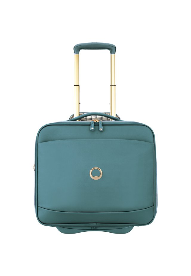 MONTROUGE 2-ROLLEN BUSINESSTROLLEY 40 CM LAPTOPFACH - Wheeled suitcase - grün