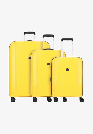 BRISBAN - Set de valises - yellow