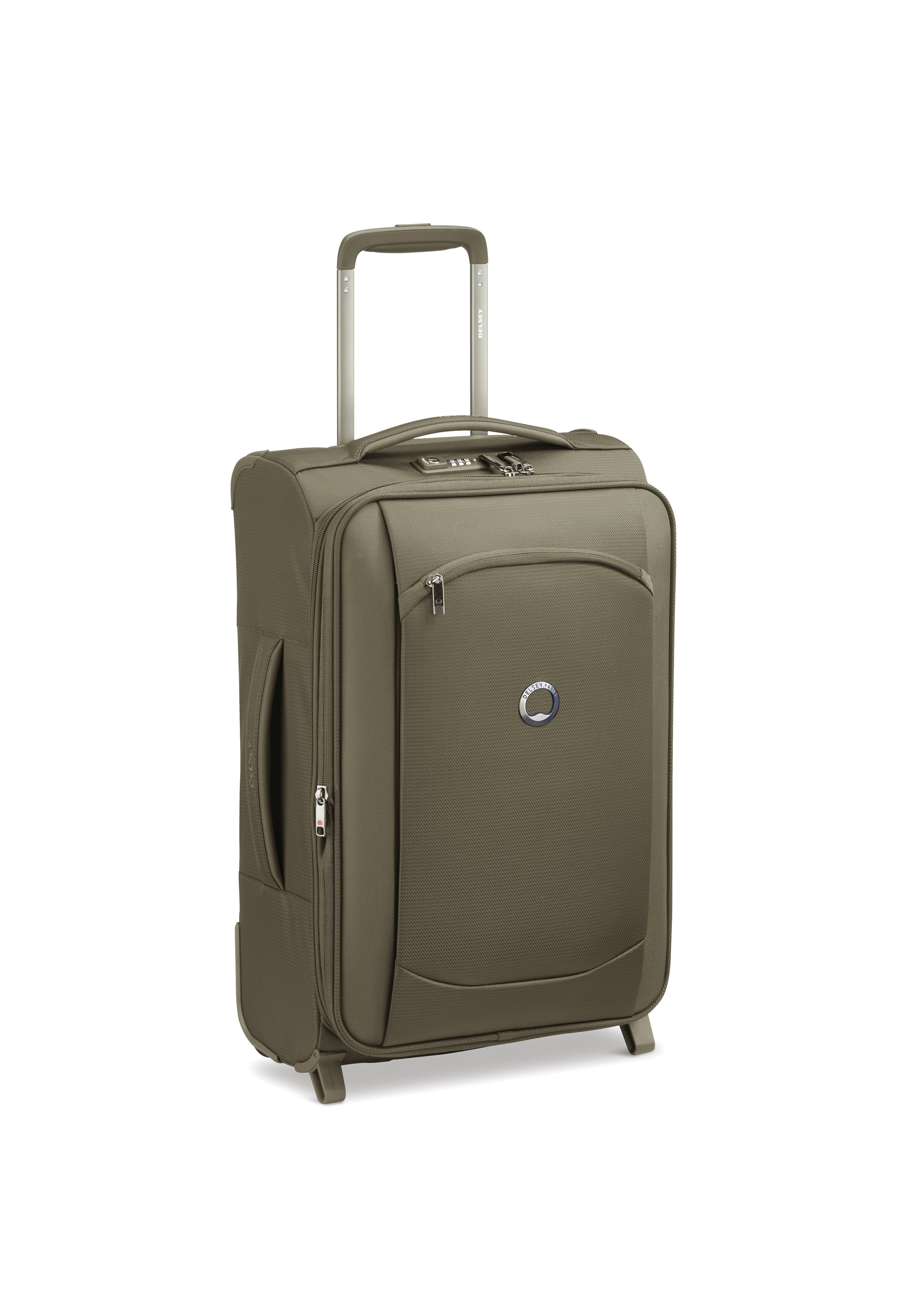 Delsey MONTMARTRE AIR 2.0 2-ROLLEN KABINENTROLLEY 55 CM - Trolley - army