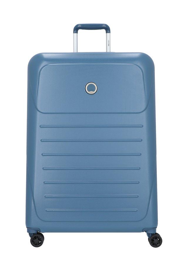 DELSEY MUNIA 4-ROLLEN TROLLEY 75 CM - Wheeled suitcase - blau