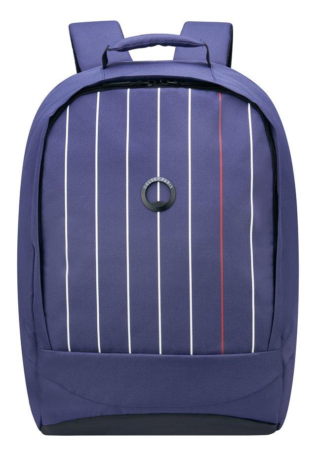 SECURBAN RUCKSACK RFID 45 CM LAPTOPFACH - Tagesrucksack - blau gedruckt