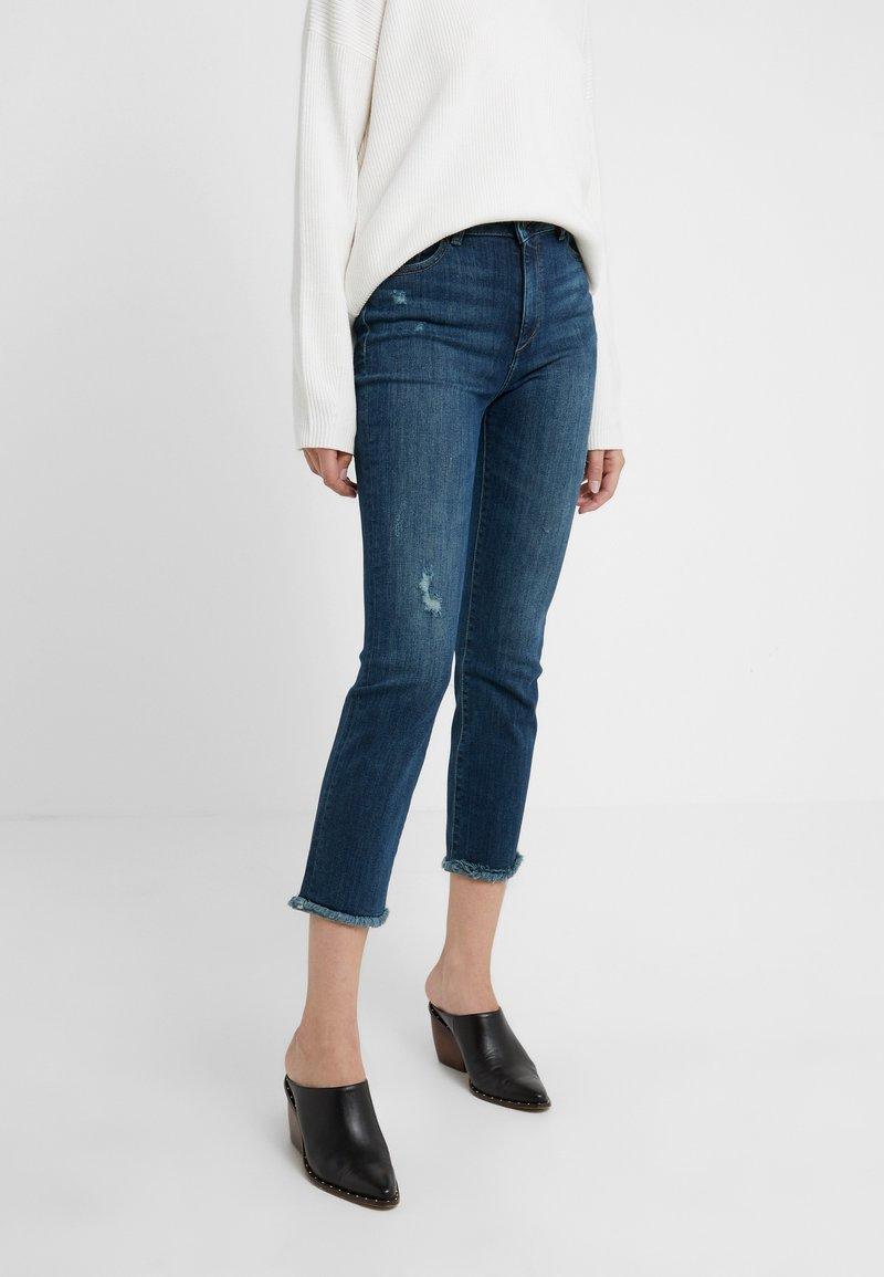 DL1961 - MARA CROPPED - Skinny džíny - ravine