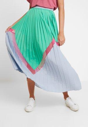 KIRA SKIRT - Jupe plissée - true green