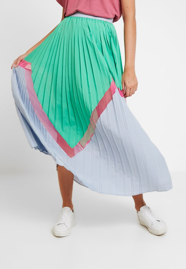 KIRA SKIRT - Plisovaná sukně - true green