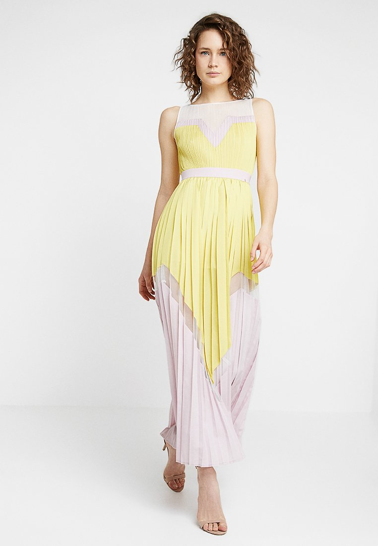 Delicatelove - KIRA DRESS - Maxi dress - lemon