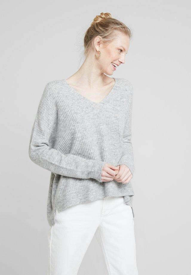 Strickpullover - silver shine