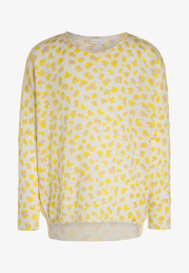 ANNA LEO - Pullover - lemon/blush