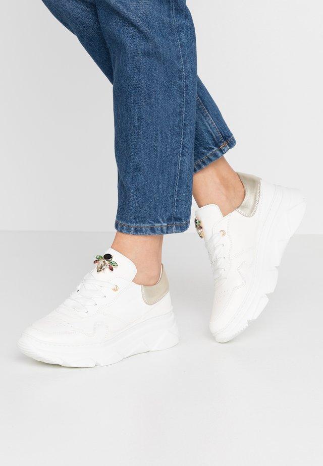 Sneakers - natur bianco/polaris platino