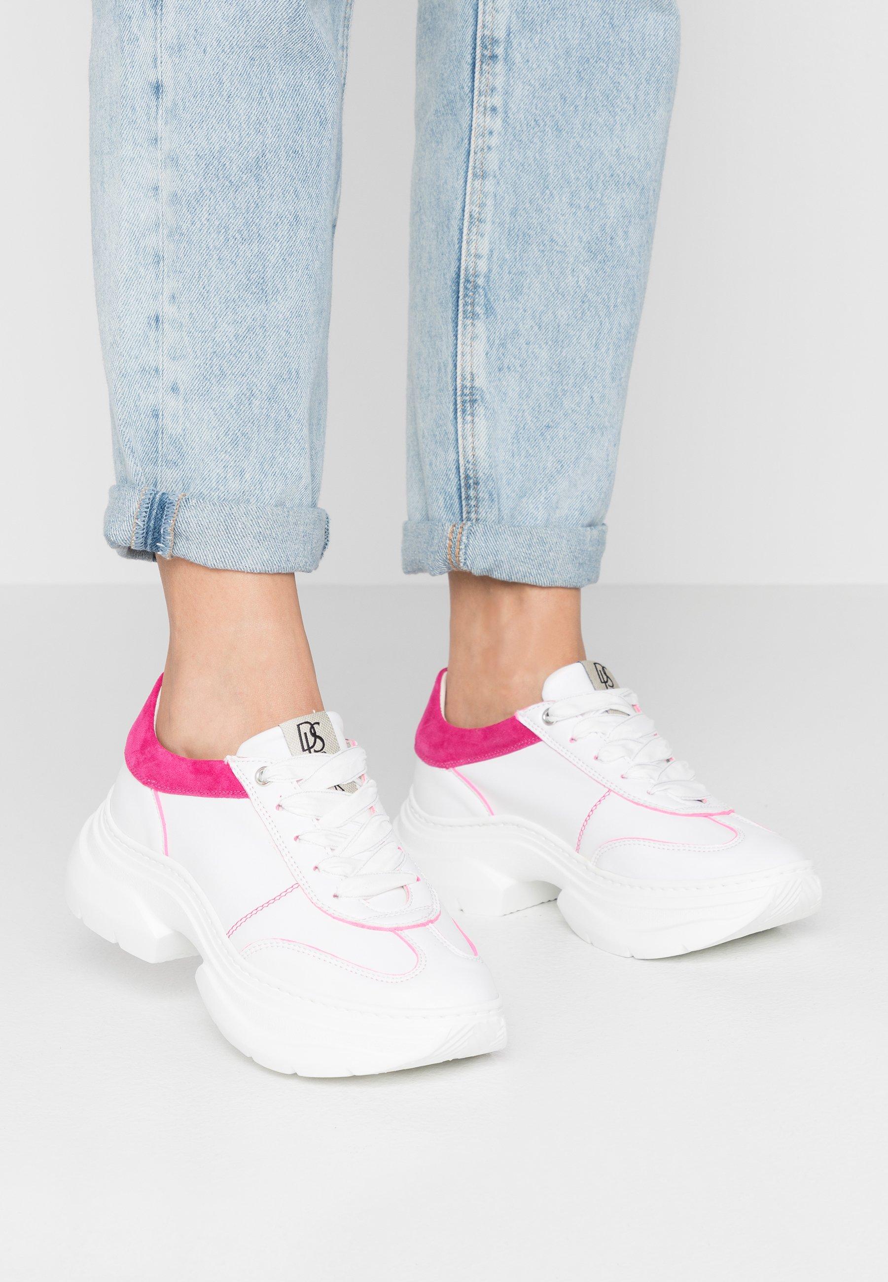 DL Sport Sneakers - rosone/bianco/fuchsia