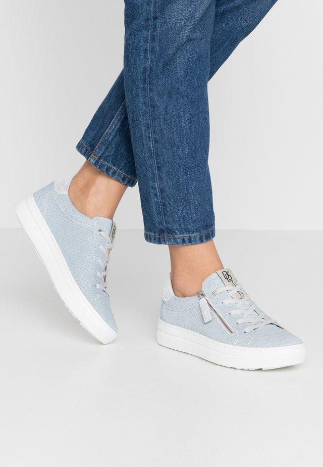 Sneakersy niskie - venere blu/glitter bianco