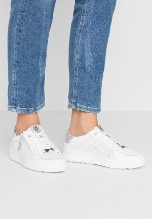 Sneakers basse - bianco/polaris agento