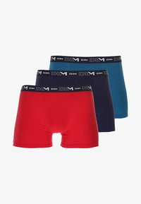 DIM - STRETCH 3 PACK - Shorty - rouge baie/bleu antique/bleu crépuscule - 5
