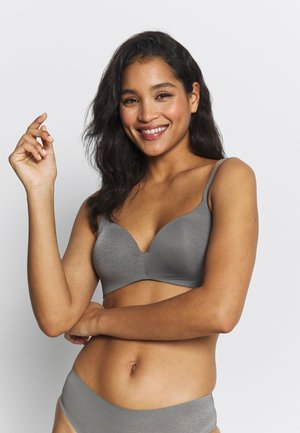 INVISIFI FREE SOUTIEN GORGE TRIANGLE PADDÉ - T-Shirt BH - grey