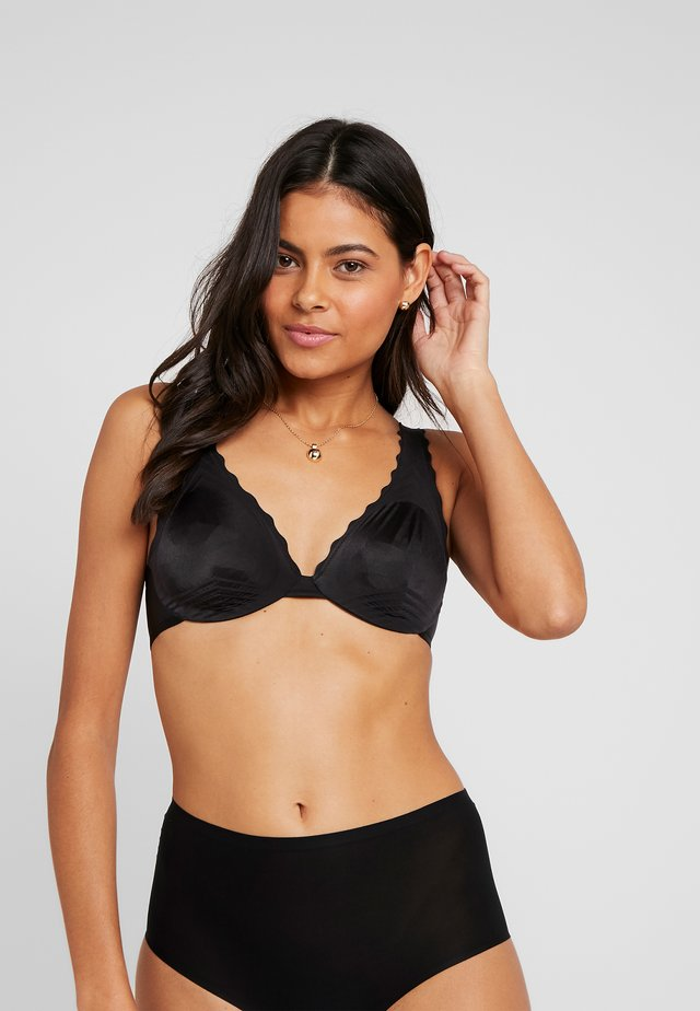 BEAUTY LIFT FOULARD BRA - Underwired bra - black