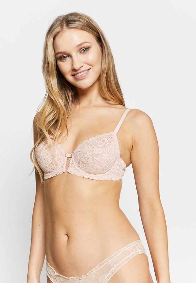 SUBLIM CUP BRA - Underwired bra - skin/rose