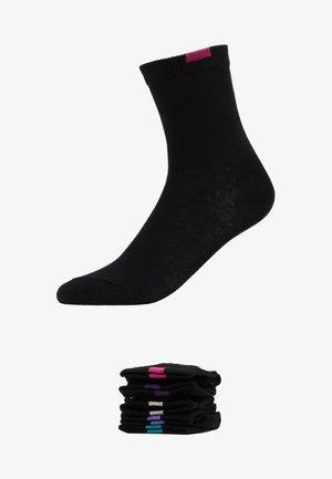 ECODIM CREW SOCKS 5 PACK - Socken - black