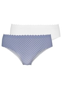 DIM - BODY TOUCH HIPSTER 2 PACK - Underbukse - blue/nacre - 0
