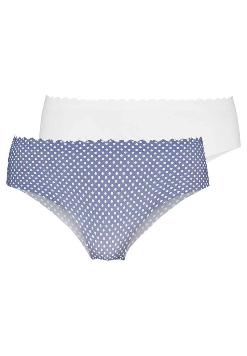 DIM - BODY TOUCH HIPSTER 2 PACK - Underbukse - blue/nacre