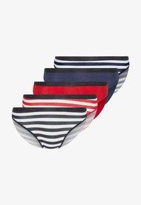 DIM - BRIEF AGNES 5 PACK - Underbukse - dark blue/red/black - 5