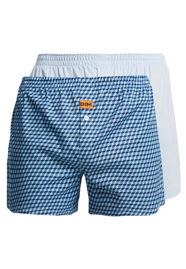 LOOSE 2 Pack - Boxer shorts - blue