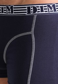 DIM - 2 PACK - Shorty - navy blue/granit grey - 3
