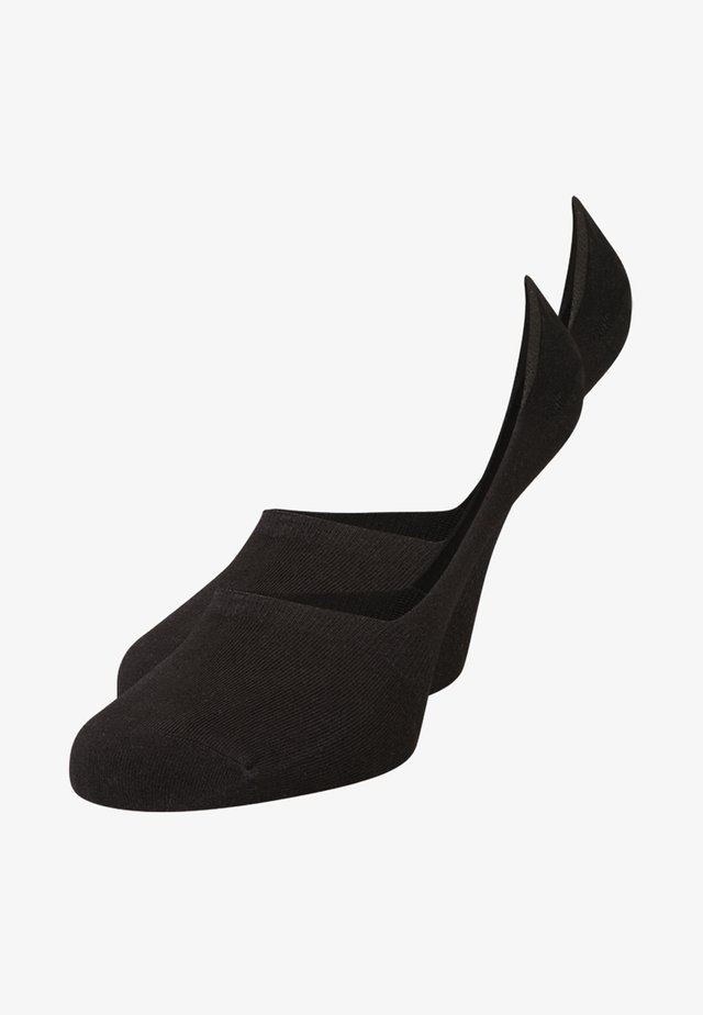 LINER SOCKS 2 PACK - Trainer socks - noir