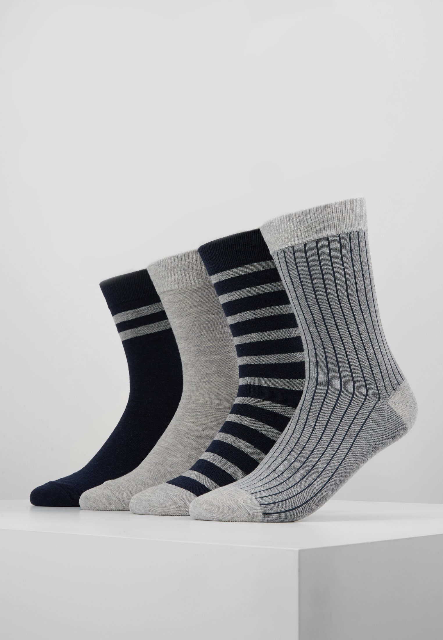 Grey Style Socks PackChaussettes blue Dim Eco Crew 4 kn0O8wP