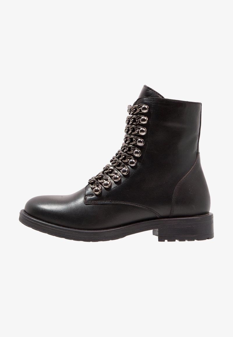 DNA Footwear BV - Biker-/cowboynilkkurit - black
