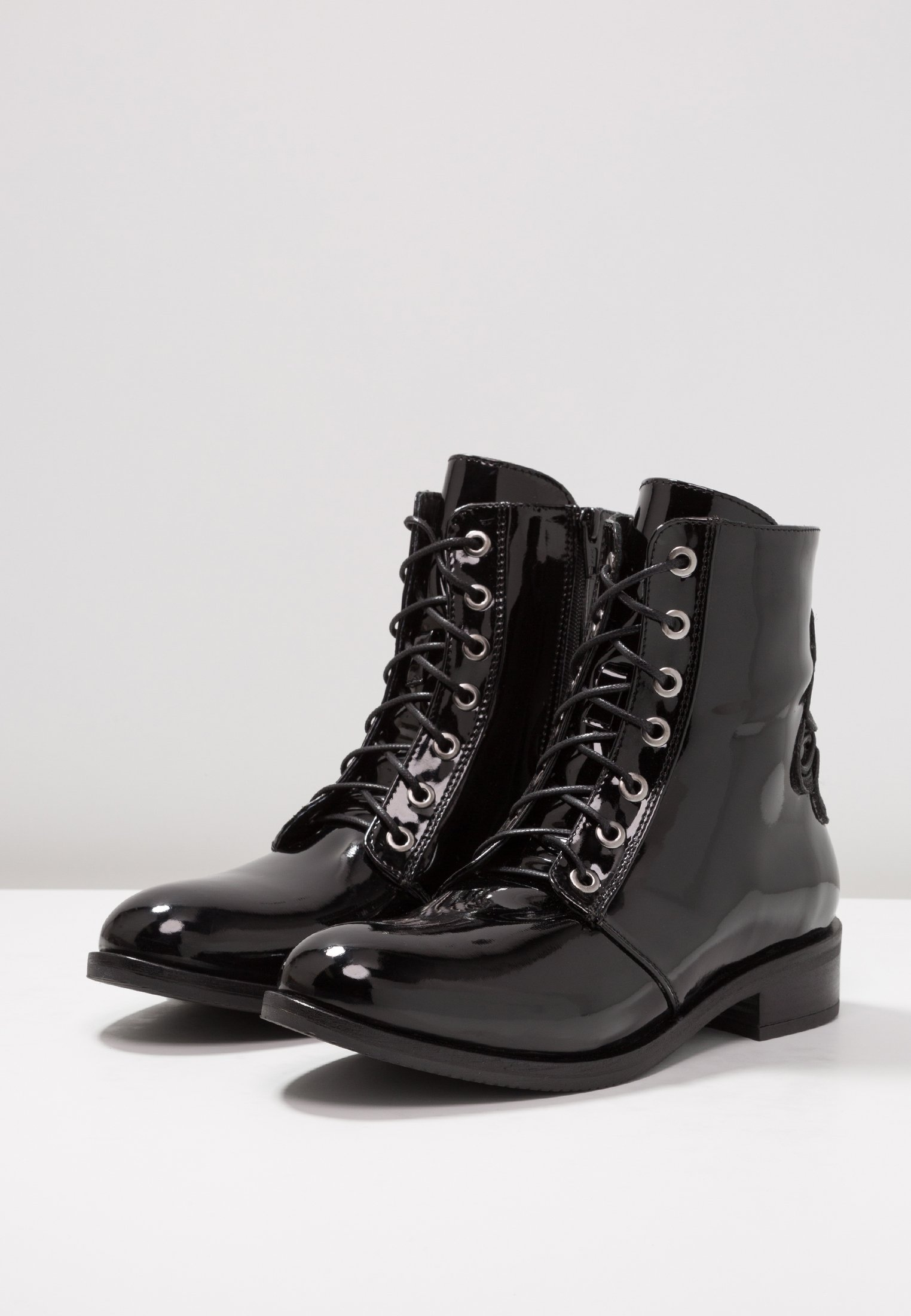 Bottines Footwear Bv LacetsBlack Dna À EWIYDH29