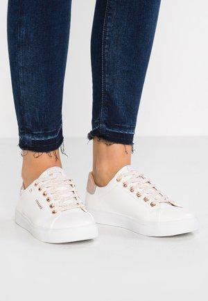 Sneaker low - weiß/rosegold