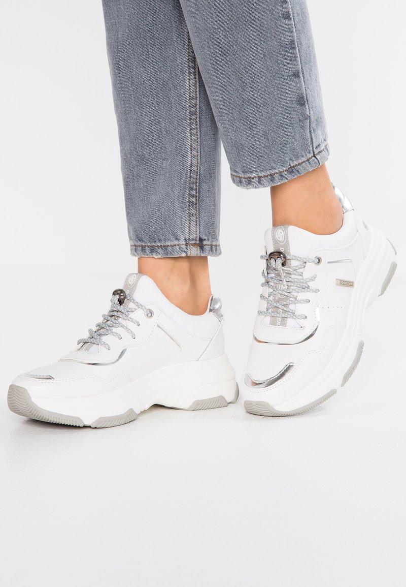 Dockers by Gerli - Sneakers laag - weiß