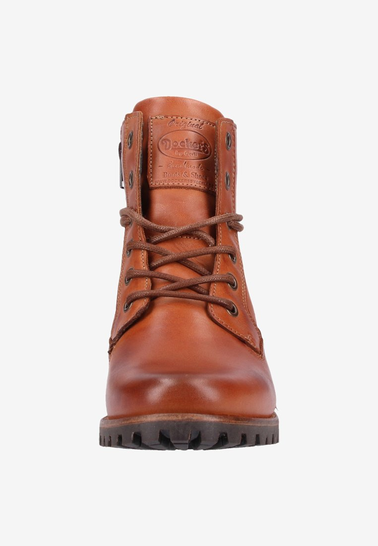 Bottines À Lacets Gerli By Dockers Cognac WI29YDHE