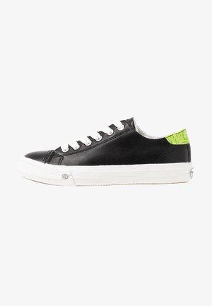 Sneakers basse - schwarz/grün