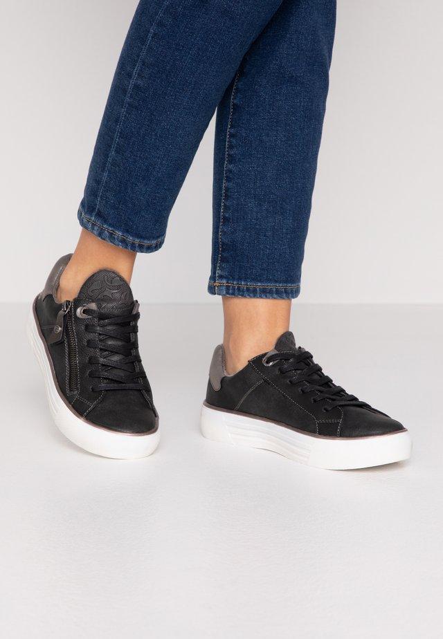 Sneakers - schwarz/dunkelgrau