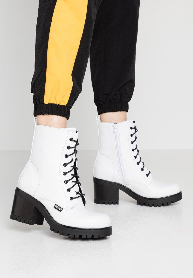 Dockers by Gerli - Platform ankle boots - weiß