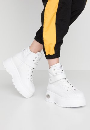 Sneakersy wysokie - weiss