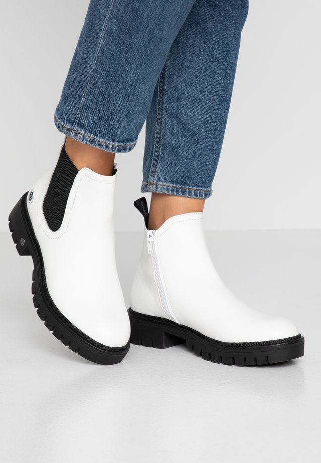 Ankle Boot - weiß