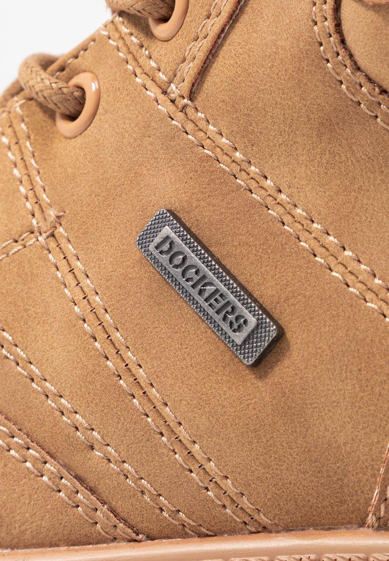 Gerli Boots Tan Dockers By Golden À Talons I6gf7mybYv
