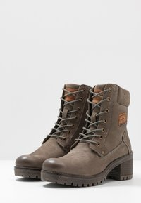 Dockers by Gerli - Lace-up ankle boots - schlamm - 4