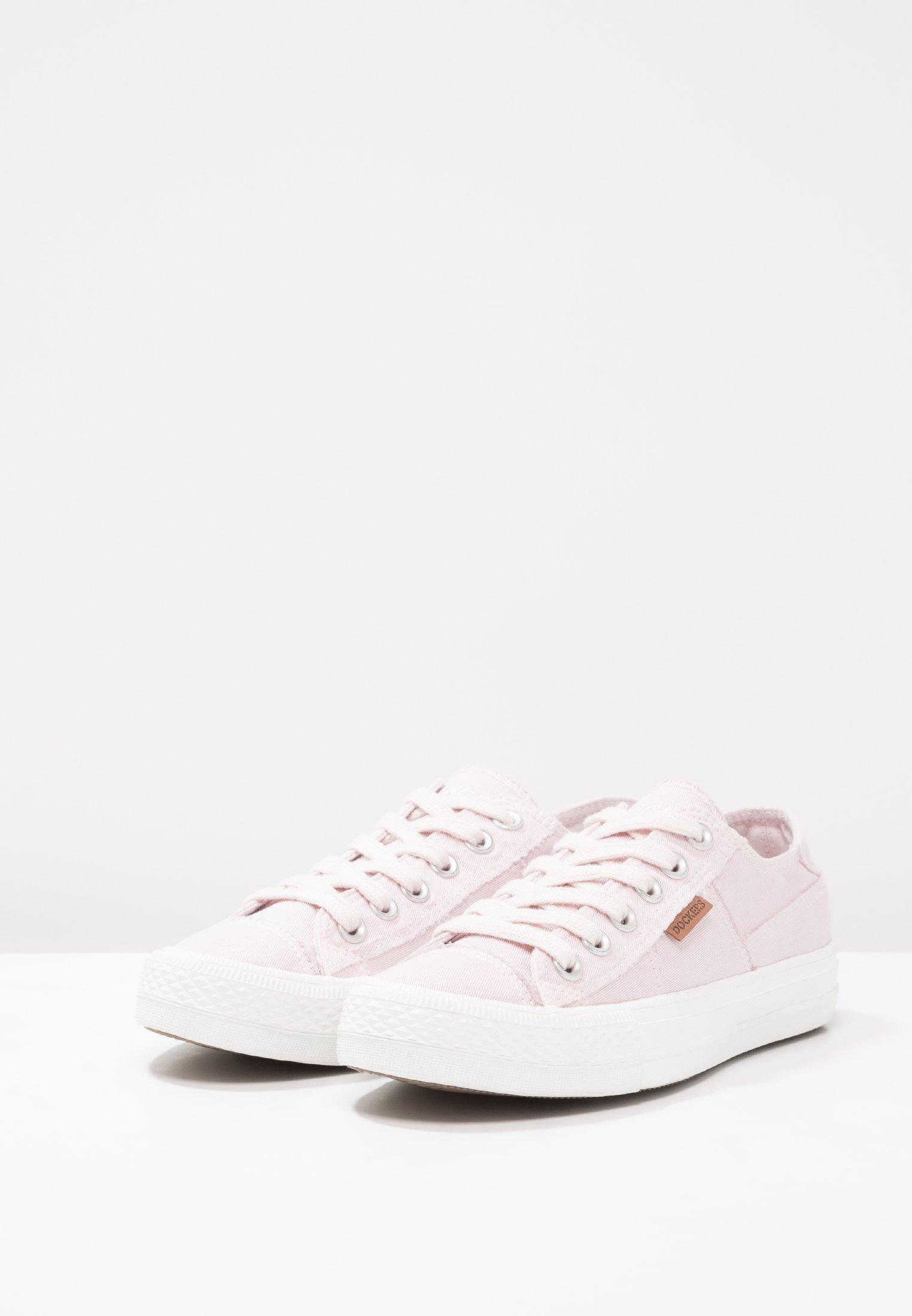 Dockers by Gerli Baskets basses - rosa/weiß