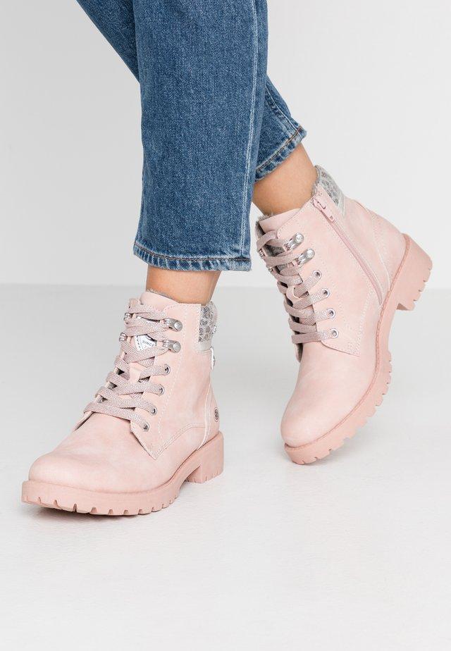 Ankelstøvler - rosa