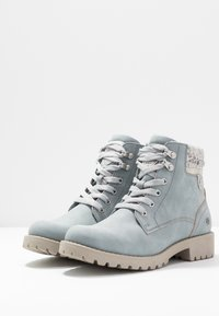 Dockers by Gerli - Boots à talons - light blue - 4