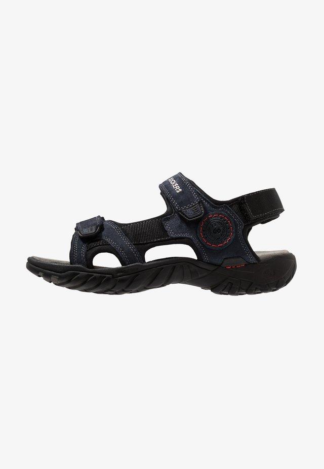 Chodecké sandály - blau