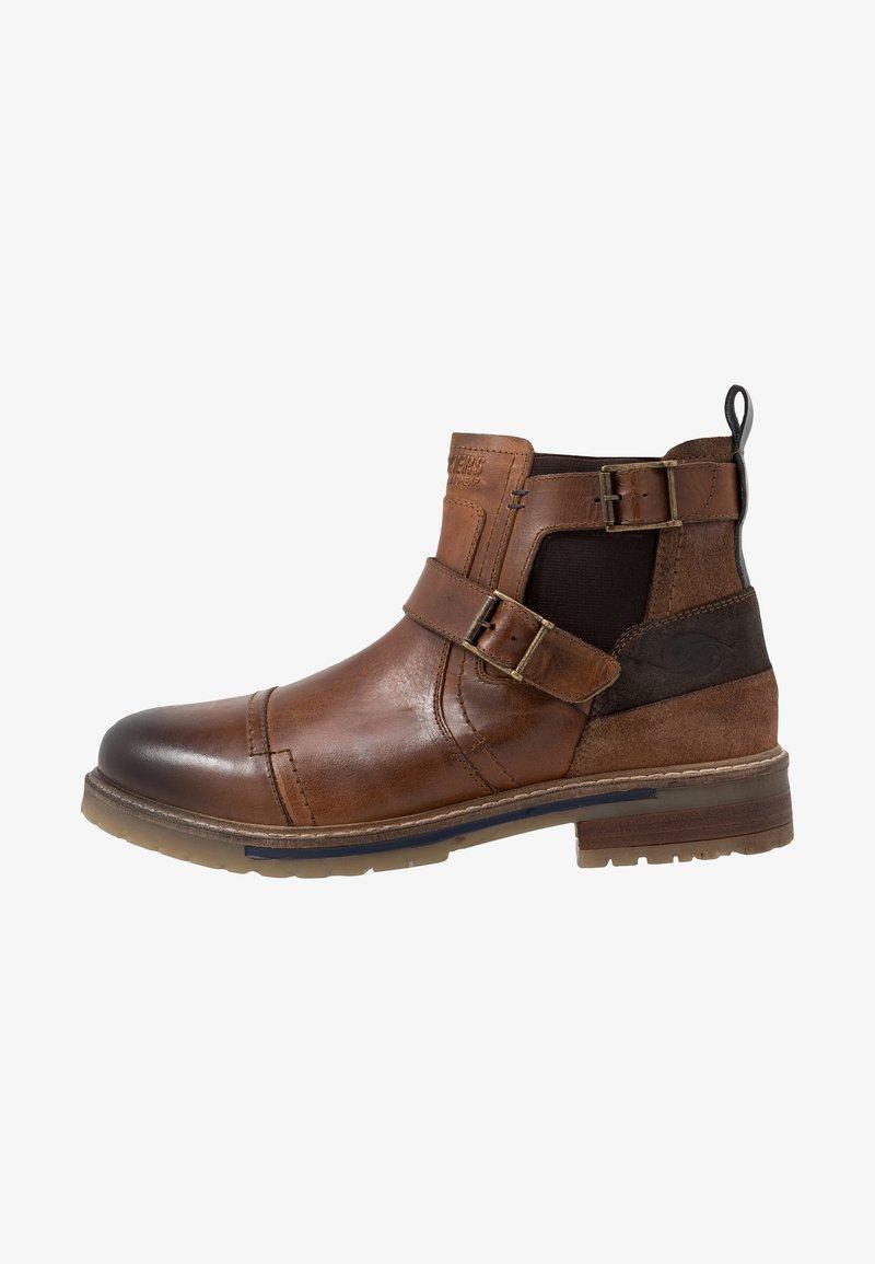 Dockers by Gerli - Cowboy/biker ankle boot - cognac
