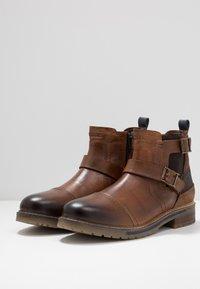 Dockers by Gerli - Cowboy/biker ankle boot - cognac - 2
