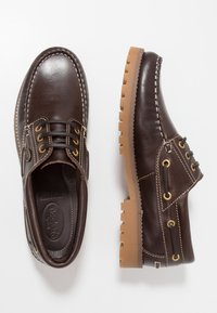 Dockers by Gerli - Chaussures bateau - cafe - 1