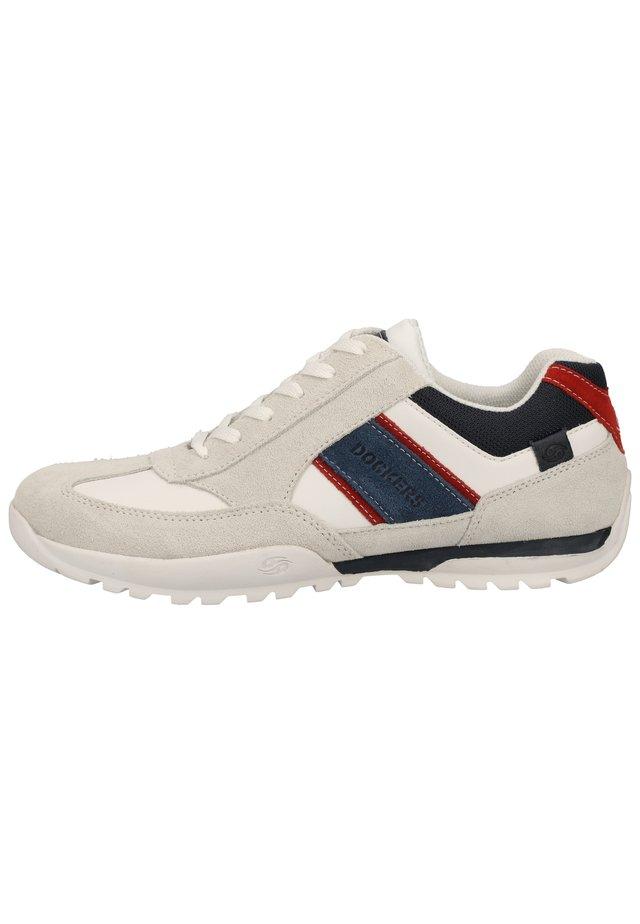 SNEAKER - Sneaker low - weiss/rot 507